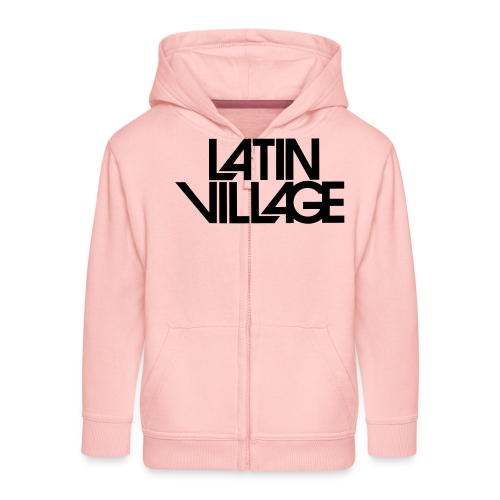 Logo Latin Village 30 - Kinderen Premium jas met capuchon