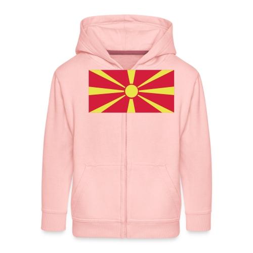 Macedonia - Kinderen Premium jas met capuchon