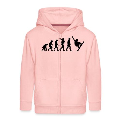 Evolution Snowboard - Kinder Premium Kapuzenjacke