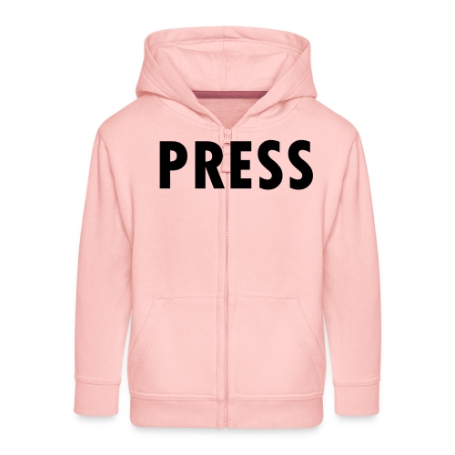 press - Kinder Premium Kapuzenjacke