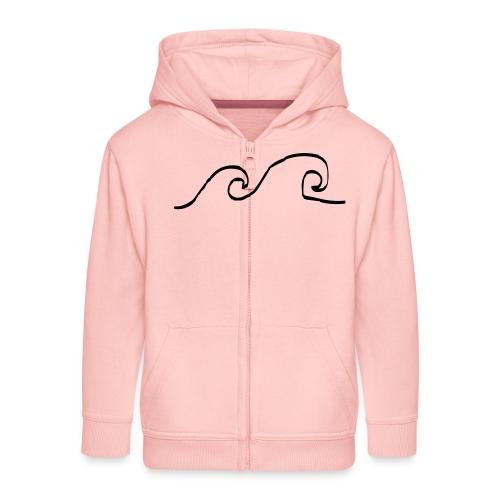 Waves - Kinderen Premium jas met capuchon