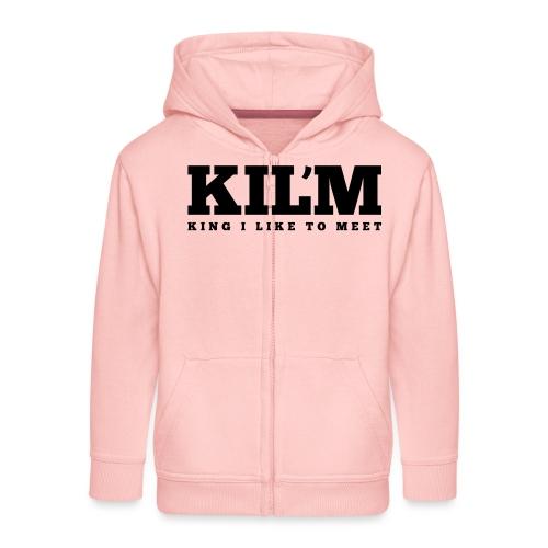 King I Like to Meet - Kinderen Premium jas met capuchon
