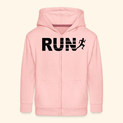 Run, course à pied - Veste à capuche Premium Enfant