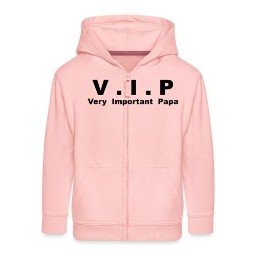 Very Important Papa - VIP - version 3 - Veste à capuche Premium Enfant