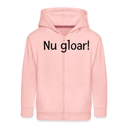 nu gloar - Kinder Premium Kapuzenjacke
