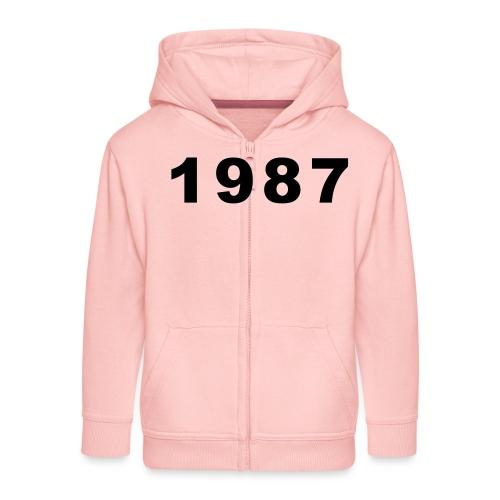 1987 - Kinderen Premium jas met capuchon