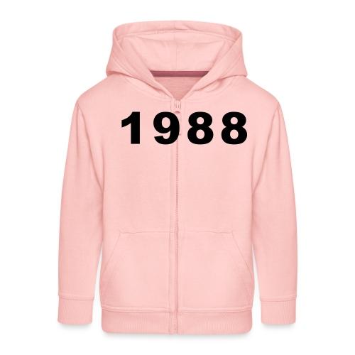 1988 - Kinderen Premium jas met capuchon
