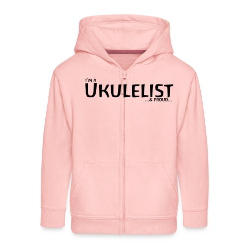 Ukulelist - Kids' Premium Zip Hoodie
