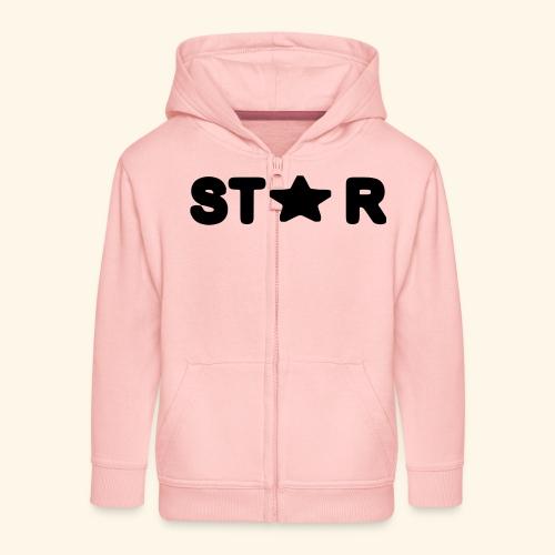 Star of Stars - Kids' Premium Zip Hoodie