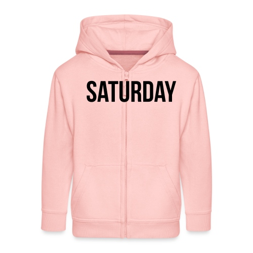 Saturday - Kids' Premium Zip Hoodie
