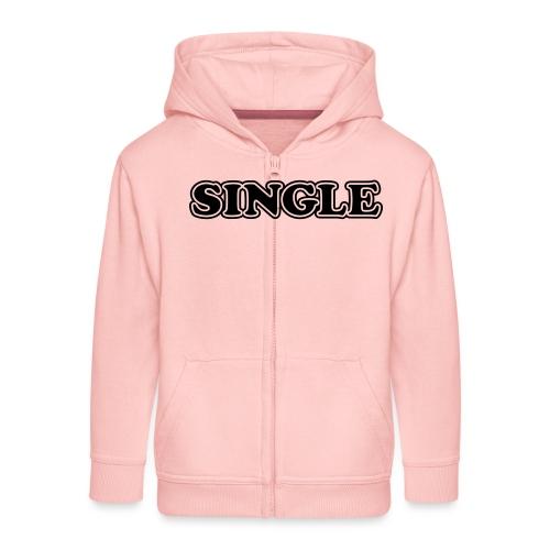 single - Kinderen Premium jas met capuchon