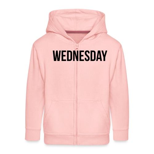 Wednesday - Kids' Premium Zip Hoodie