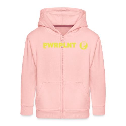 PWRPLNT_P_right_green_01 - Kids' Premium Zip Hoodie