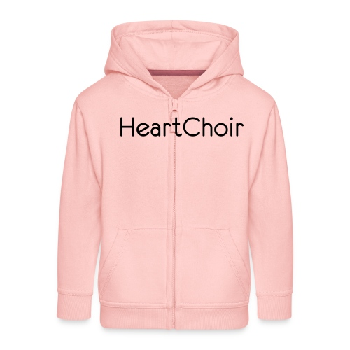 schriftzug heartchoir - Kinder Premium Kapuzenjacke