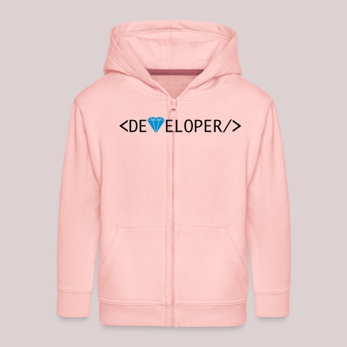 Developer | Computer | Nerd | Hipster | Geek - Kinder Premium Kapuzenjacke