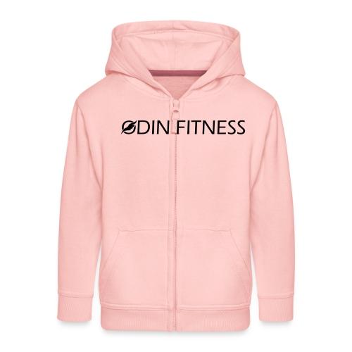 OdinFitnessBlack - Kids' Premium Zip Hoodie