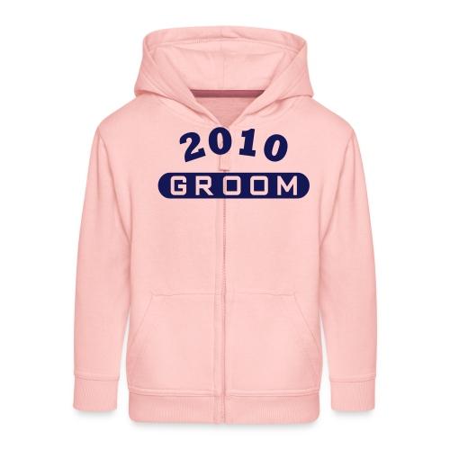 Groom 2010 - Kids' Premium Zip Hoodie