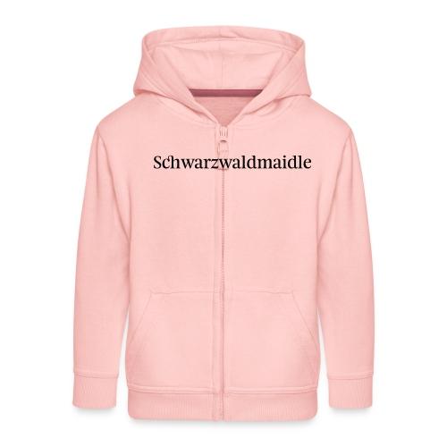 Schwarzwaldmaidle - T-Shirt - Kinder Premium Kapuzenjacke