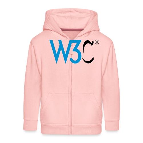 w3c - Kids' Premium Zip Hoodie
