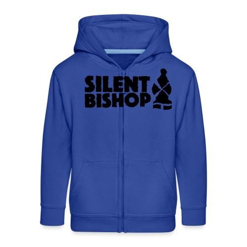 Silent Bishop Logo Groot - Kinderen Premium jas met capuchon