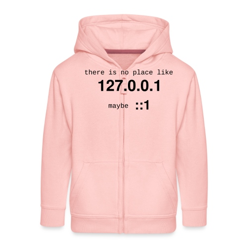 127-0-0-1-new - Veste à capuche Premium Enfant