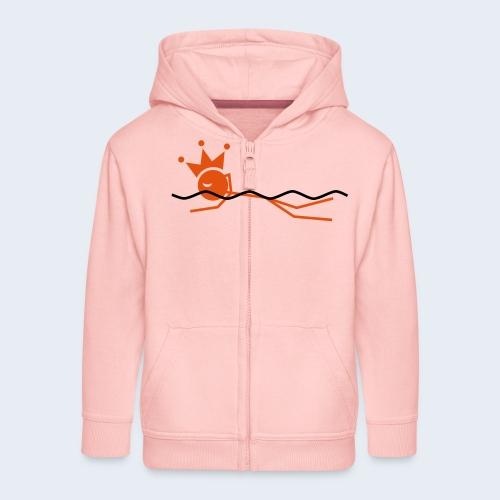 Zwemkoning - Kinderen Premium jas met capuchon