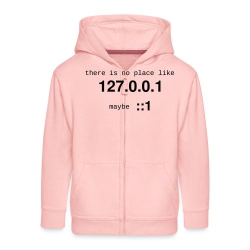 127-0-0-1-::1 - Veste à capuche Premium Enfant