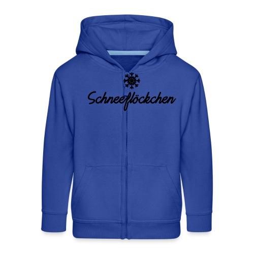 Schneeflöckchen, Apres ski Shirt - Kinder Premium Kapuzenjacke