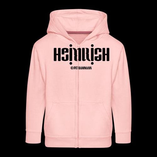 Ambigramm Heinrich 01 Pit Hammann - Kinder Premium Kapuzenjacke