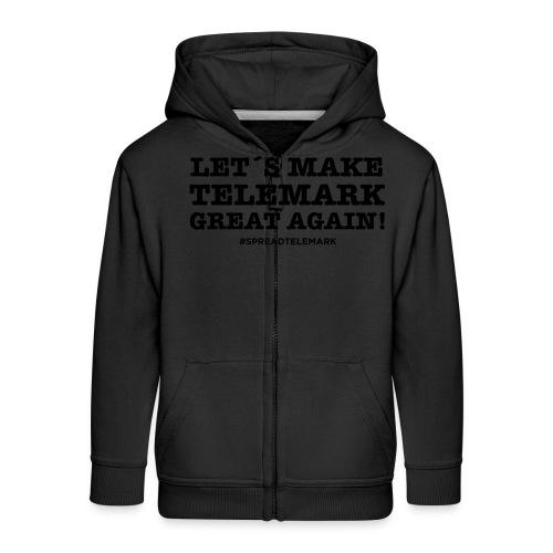 Let´s make telemark great again - Lasten premium hupparitakki