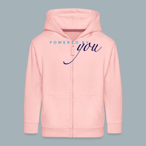 Powered By You Basketbal Shirt - Kinderen Premium jas met capuchon