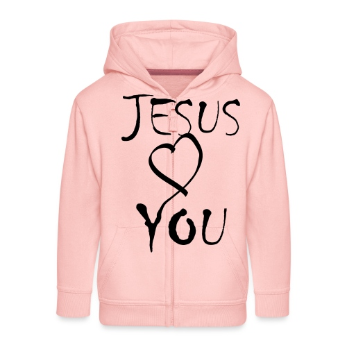 jesus loves you - Kinder Premium Kapuzenjacke
