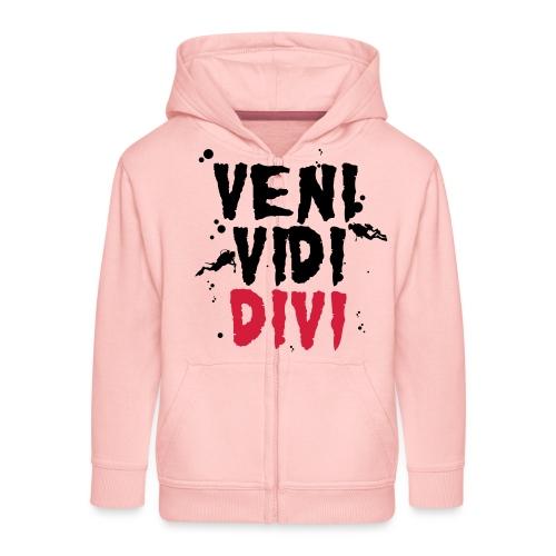 dive, nur, scuba, cool, - Rozpinana bluza dziecięca z kapturem Premium