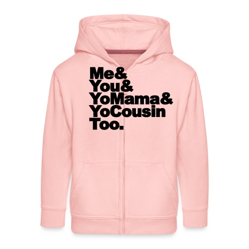 Outkast - Me, You, Yomama and Yocousin too - Kinderen Premium jas met capuchon
