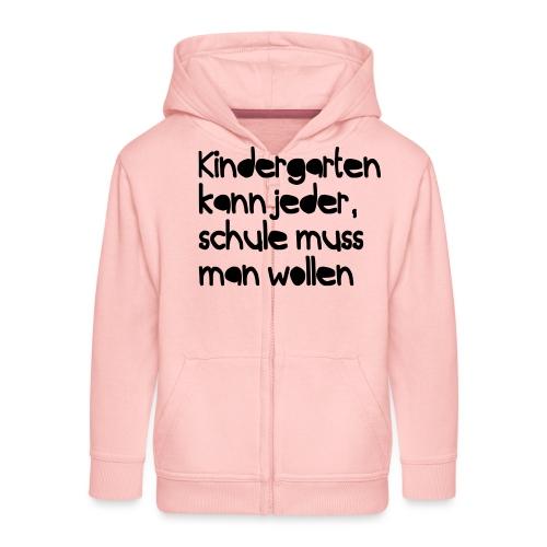 Kindergarten (Spruch) - Kinder Premium Kapuzenjacke