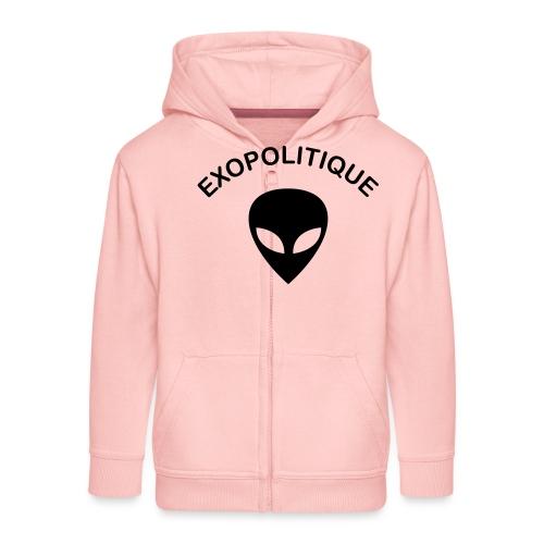 EXOPOLITIQUE - Veste à capuche Premium Enfant