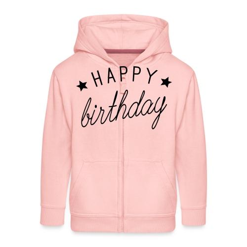 Alles Gute zum Geburtstag - Kinder Premium Kapuzenjacke