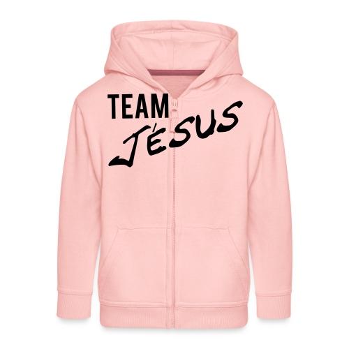 Team Jésus - Veste à capuche Premium Enfant