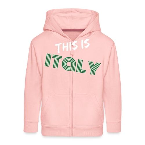 Das ist Italien - Kinder Premium Kapuzenjacke
