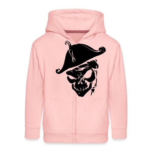 pirate skull - Kinderen Premium jas met capuchon