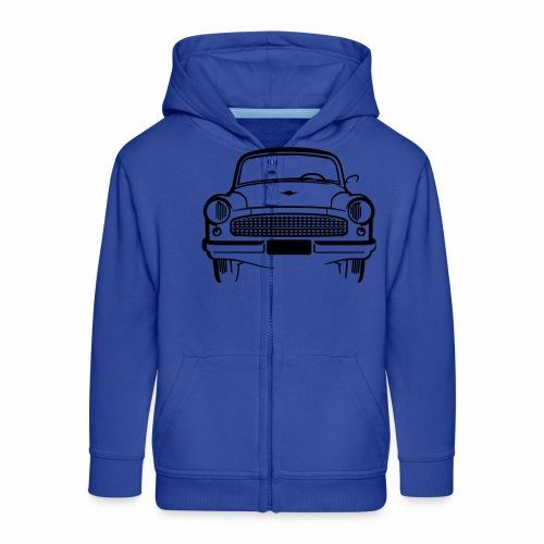 Wartburg 311 front - Kids' Premium Zip Hoodie