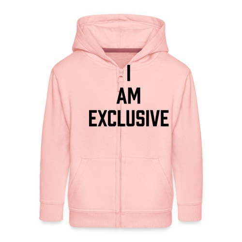 I am Exclusive - Kinder Premium Kapuzenjacke