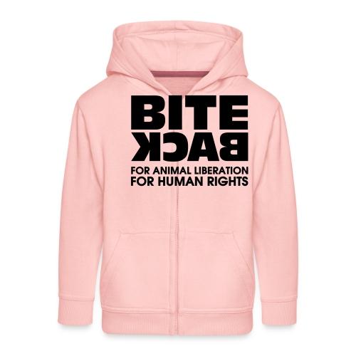 Bite Back logo - Kinderen Premium jas met capuchon