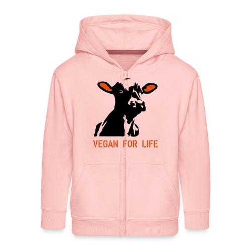 colorida vegan for life - Kinder Premium Kapuzenjacke