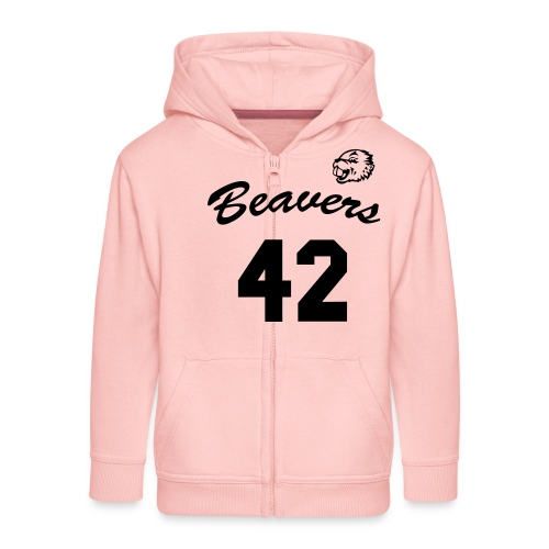 Beavers front - Kinderen Premium jas met capuchon