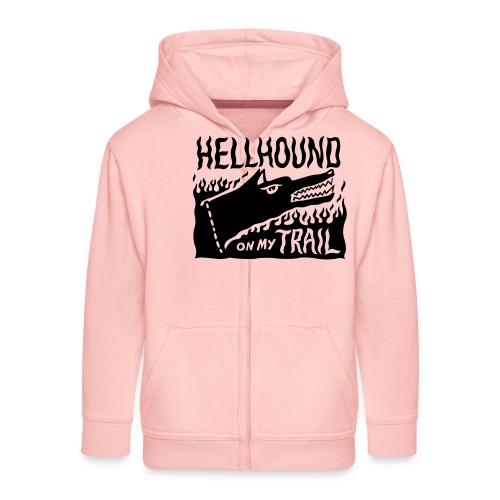 Hellhound on my trail - Kids' Premium Zip Hoodie