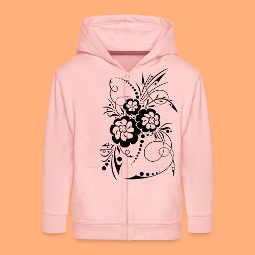 exposion florale - Veste à capuche Premium Enfant