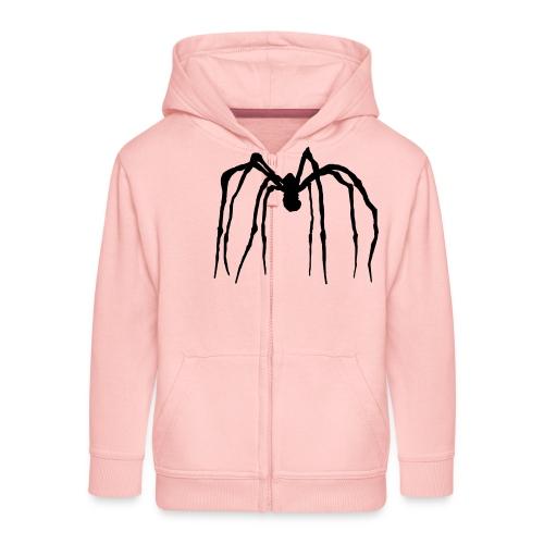 spider de louise 01 - Kinder Premium Kapuzenjacke