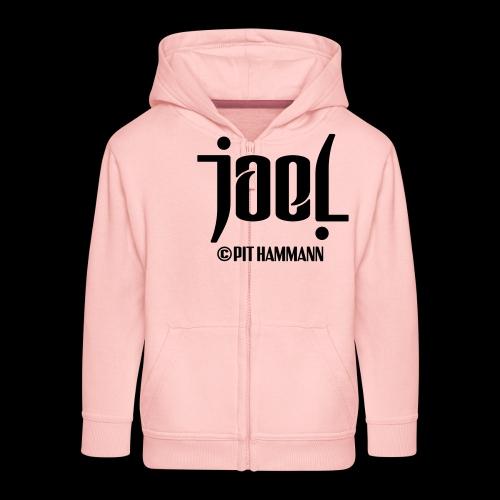 Ambigramm Joel 01 Pit Hammann - Kinder Premium Kapuzenjacke