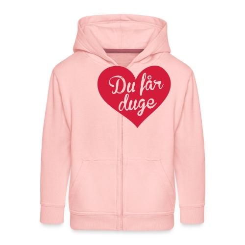 Ekte kjærlighet - Det norske plagg - Premium Barne-hettejakke